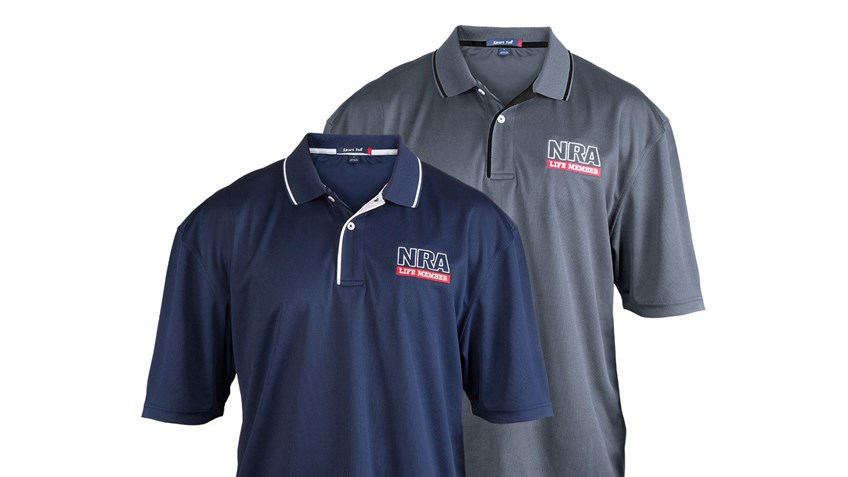 Show Off Your NRA Pride With a Life Member Polo From the NRAstore