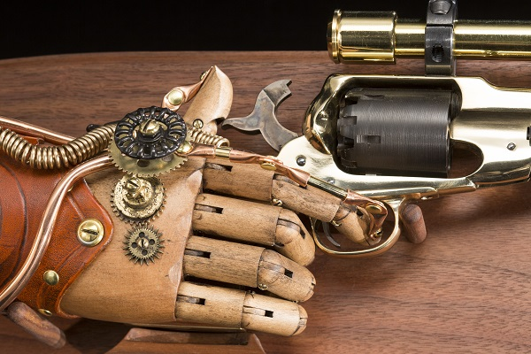 World's First Automatic Handgun loaned by John Belli