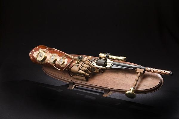 World's First Automatic Handgun loaned by John Belli