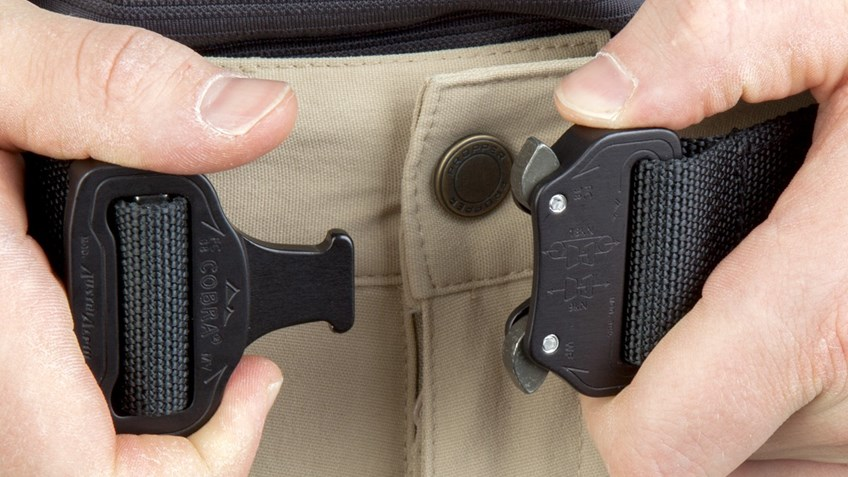 NRA Tactical Shooter's Belt is the roughest, toughest new item at the NRAstore