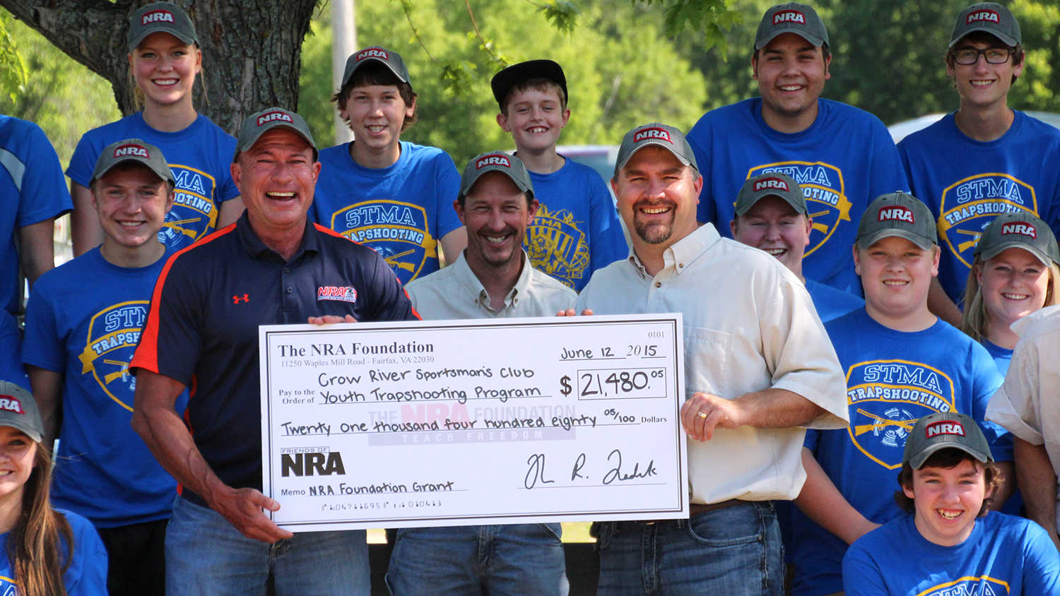 NRA Foundation CFO Visits Minnesota Sportsmen's Club