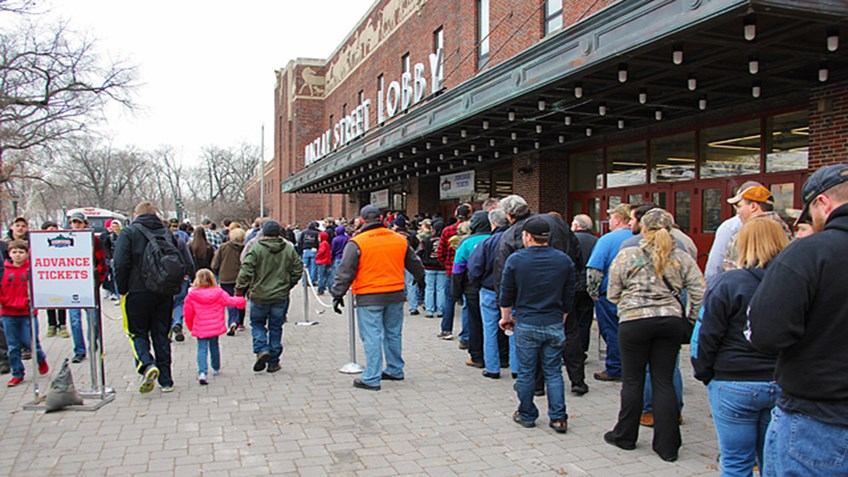 Crowds Line Up for the Great American Outdoor Show in Harrisburg