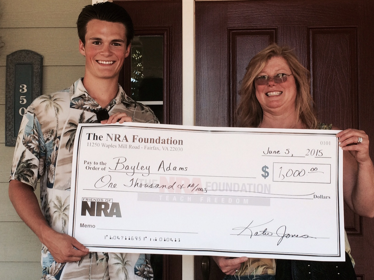 Oregon State Friends of NRA Announces Scholarship Recipients