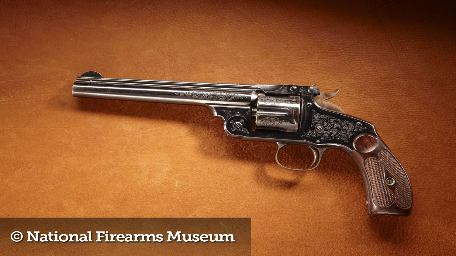 Gun of the Month: Theodore Roosevelt's Smith & Wesson New Model No. 3 Revolver