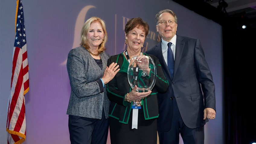 NRA Recognizes Two Extraordinary Women