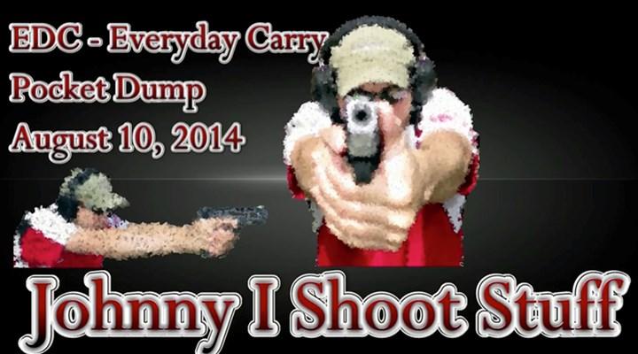 "Everyday Carry: ""Johnny I Shoot Stuff"""