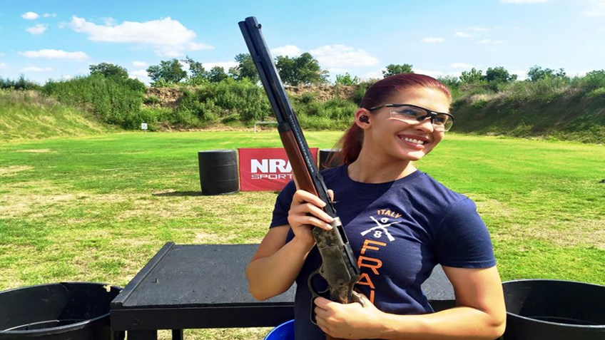 Training for the NRA World Shooting Championship