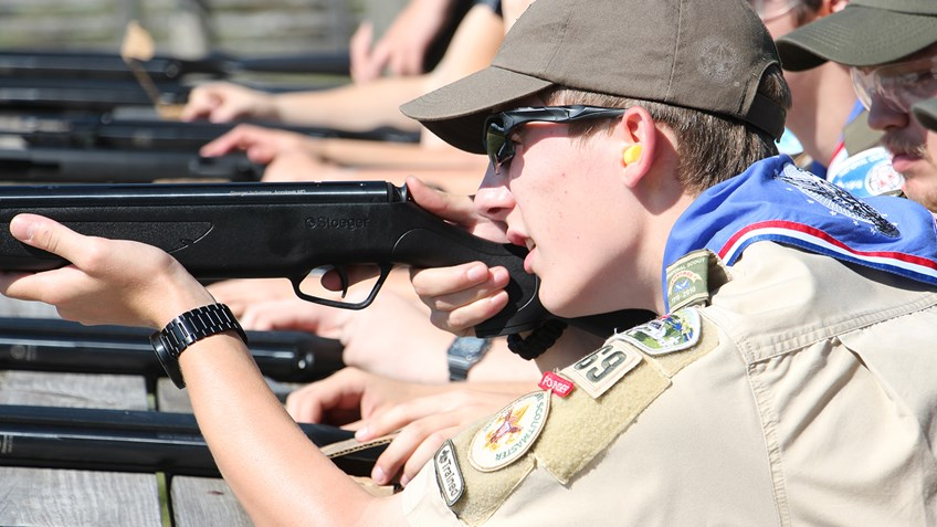 Boy Scouts Get A Surprise at NRA All Access Filming