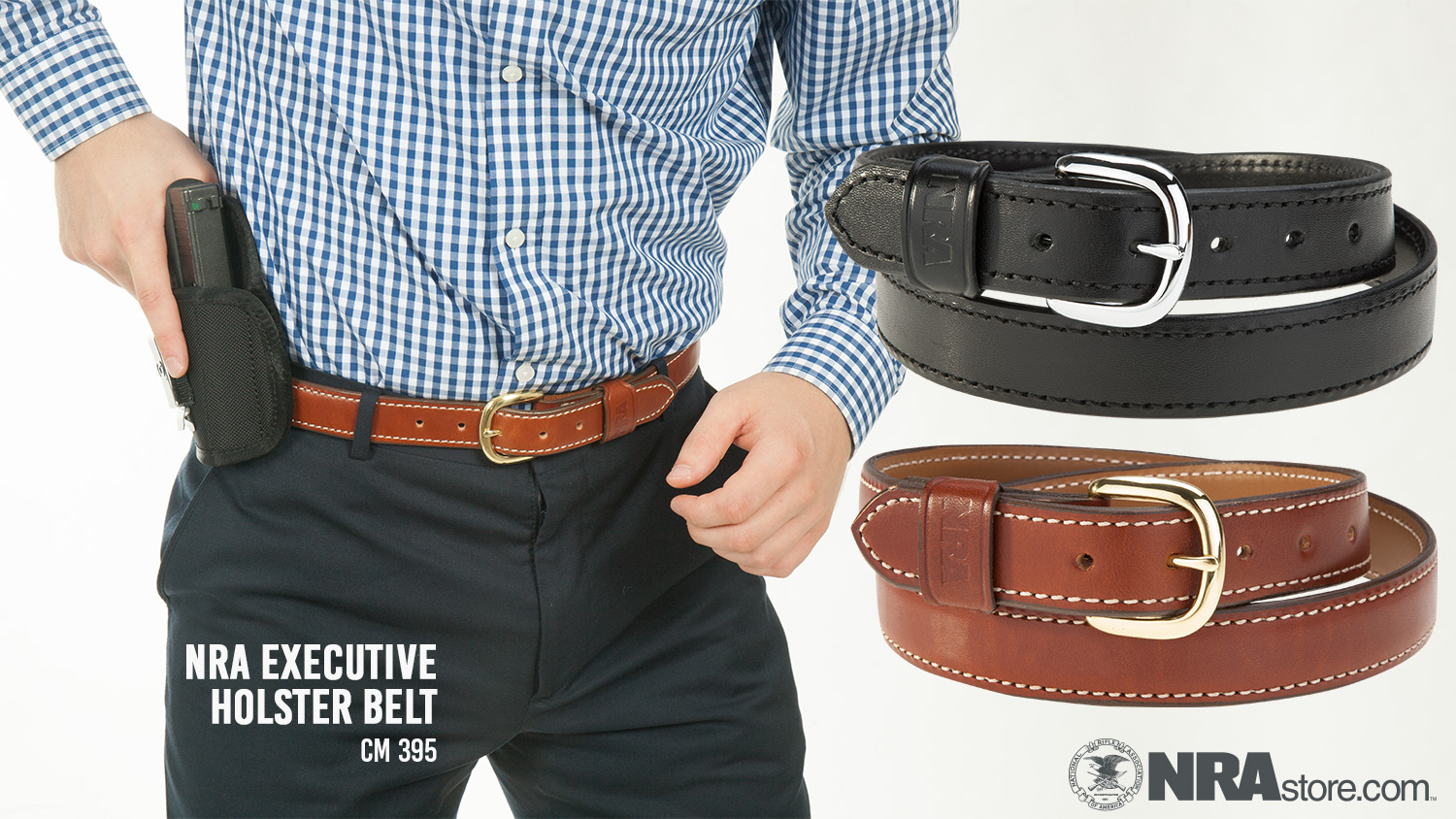 Balance Personal Safety and Formal Attire With the NRA Executive Holster Belt
