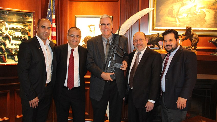 IWI Donates Serial No. 1 Tavor to NRA Museums