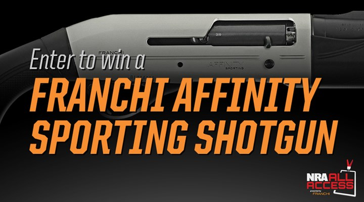 Enter to Win a Franchi Affinity Sporting Shotgun!