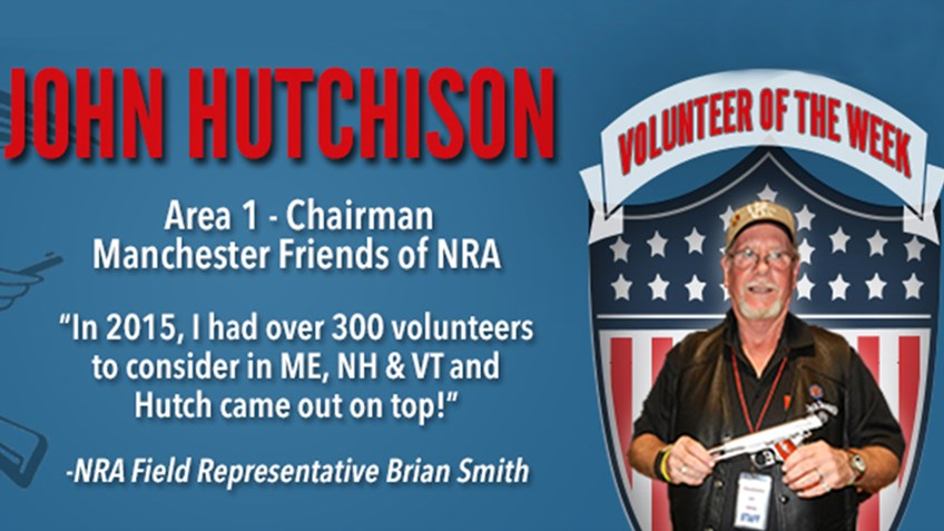 Volunteer of the Week: John Hutchison