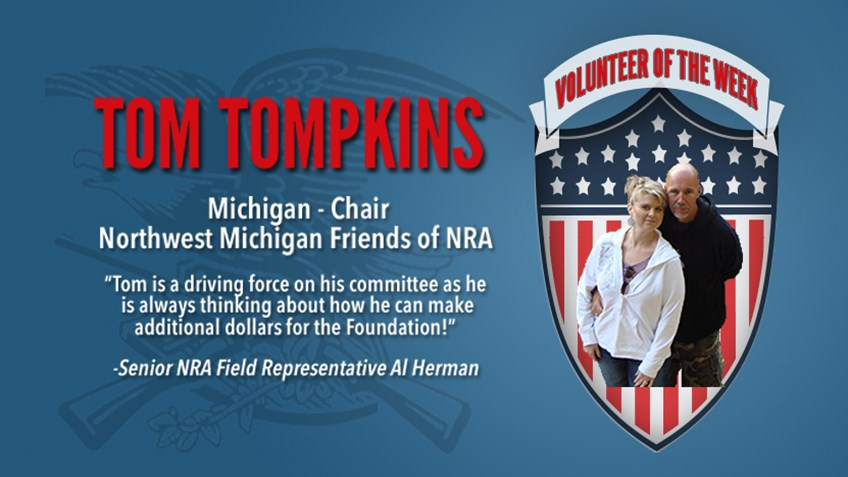 Volunteer of the Week: Tom Tompkins
