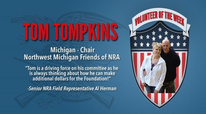 Volunteer of the Week: Tom Tompkins