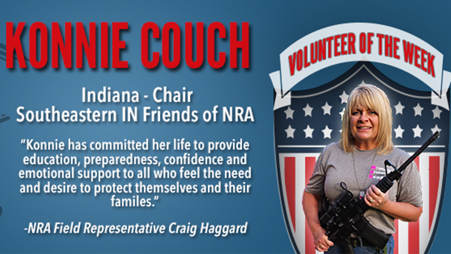 Volunteer of the Week: Konnie Couch