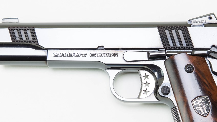NRA Museums Receives Limited Edition Cabot Guns 1911