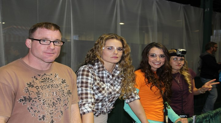 The Most Wanted List Girls & Matt Hughes Take on the Family Fun zone