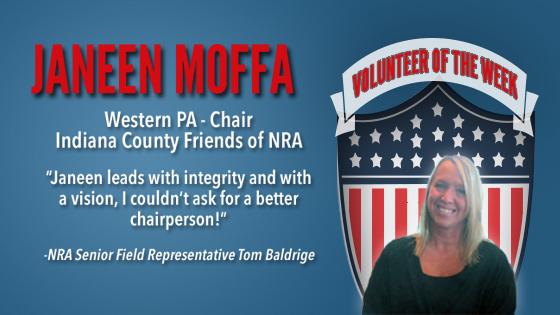 Volunteer of the Week: Janeen Moffa