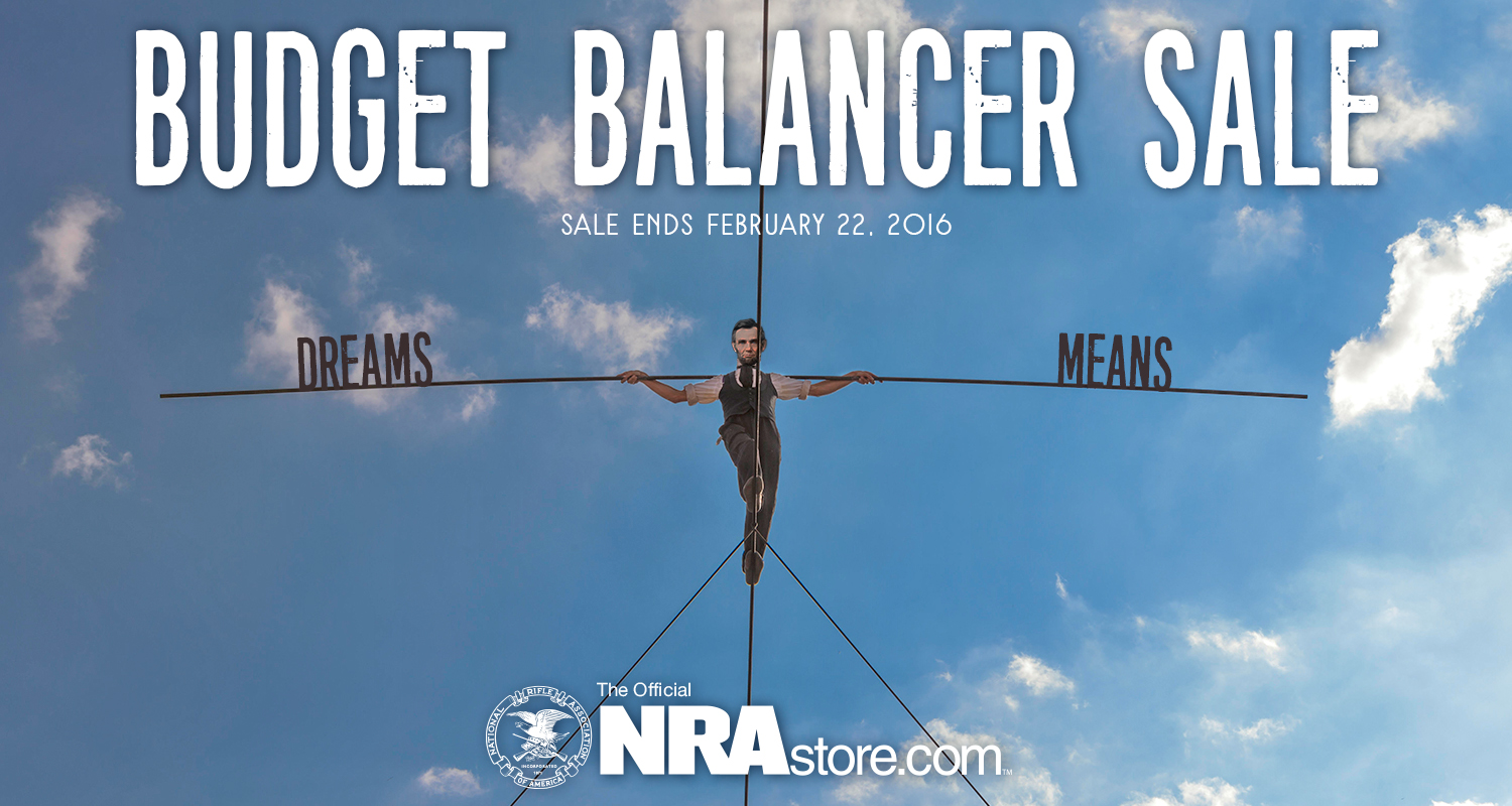 NRA Store Presidents' Day Sale