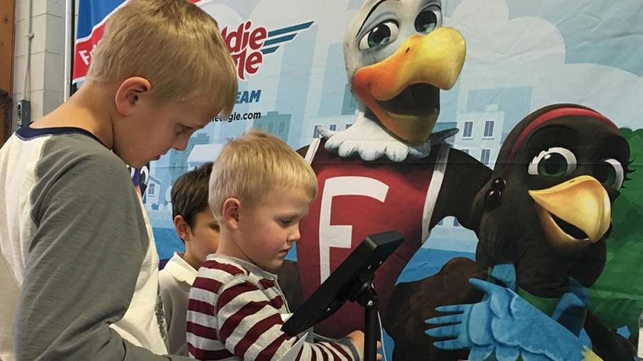 Eddie Eagle Spreads His Wings at the Great American Outdoor Show