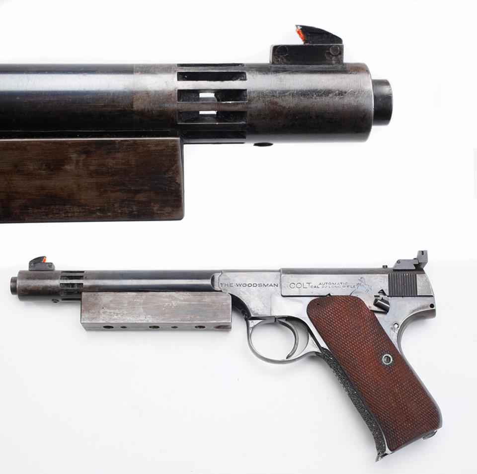 Gun of the Day: Modified Colt Woodsman