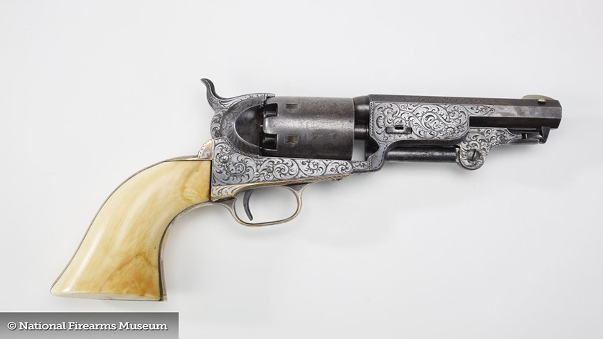 Gun of the Day: Engraved Colt Model 1851 Revolver
