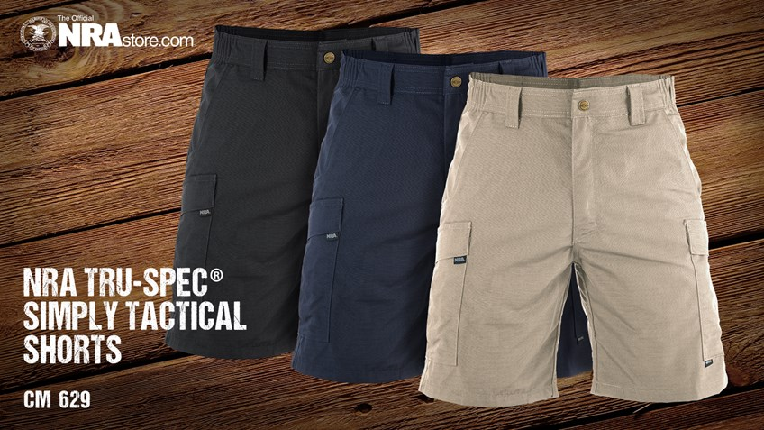 NRA Store Product Highlight: Simply Tactical Cargo Shorts