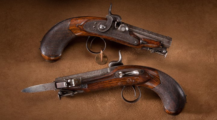 Gun of the Day: Rigby Great Coat Pistols