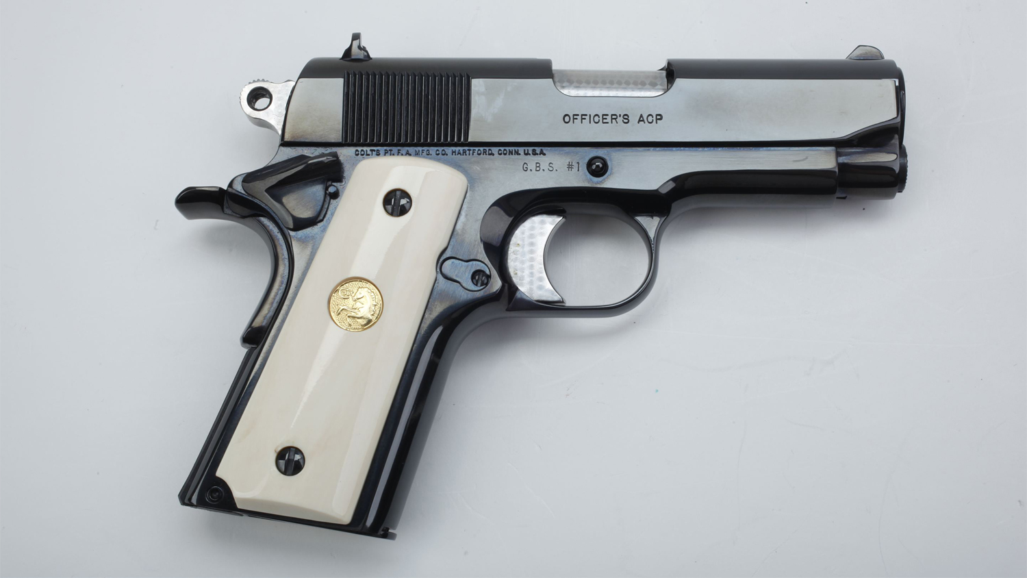 Gun of the Day: Colt Officer's Pistol