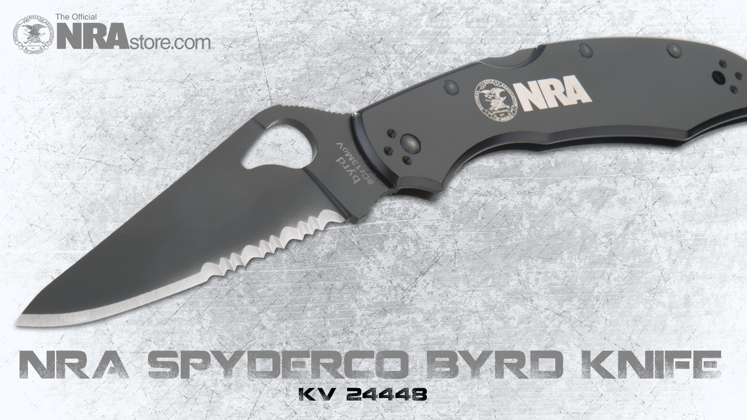 NRA Store Product Highlight: Spyderco Byrd Knife