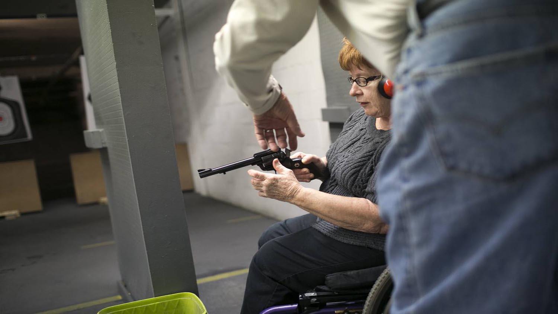 More Seniors, Fearing Crime, Flock to Shooting Ranges