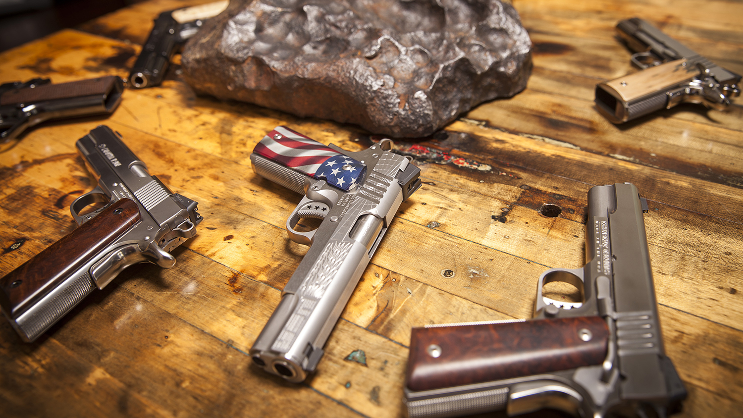 Cabot Guns Has Made 1911s Out of Meteorite