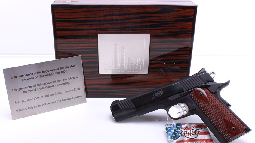 A Kimber Recovered From The World Trade Center