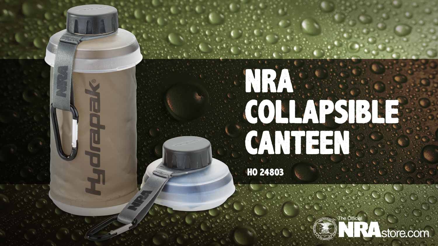 NRA Store Product Highlight: Collapsible Canteen