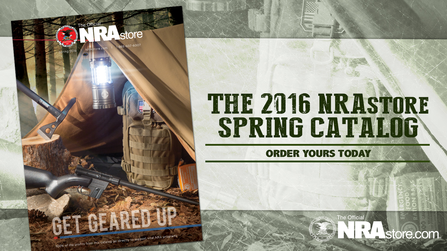 NRA Store Spring Catalog is Here!