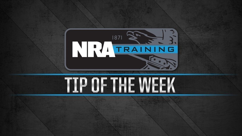 Training Tip of the Week: Tactical Reload Pistol