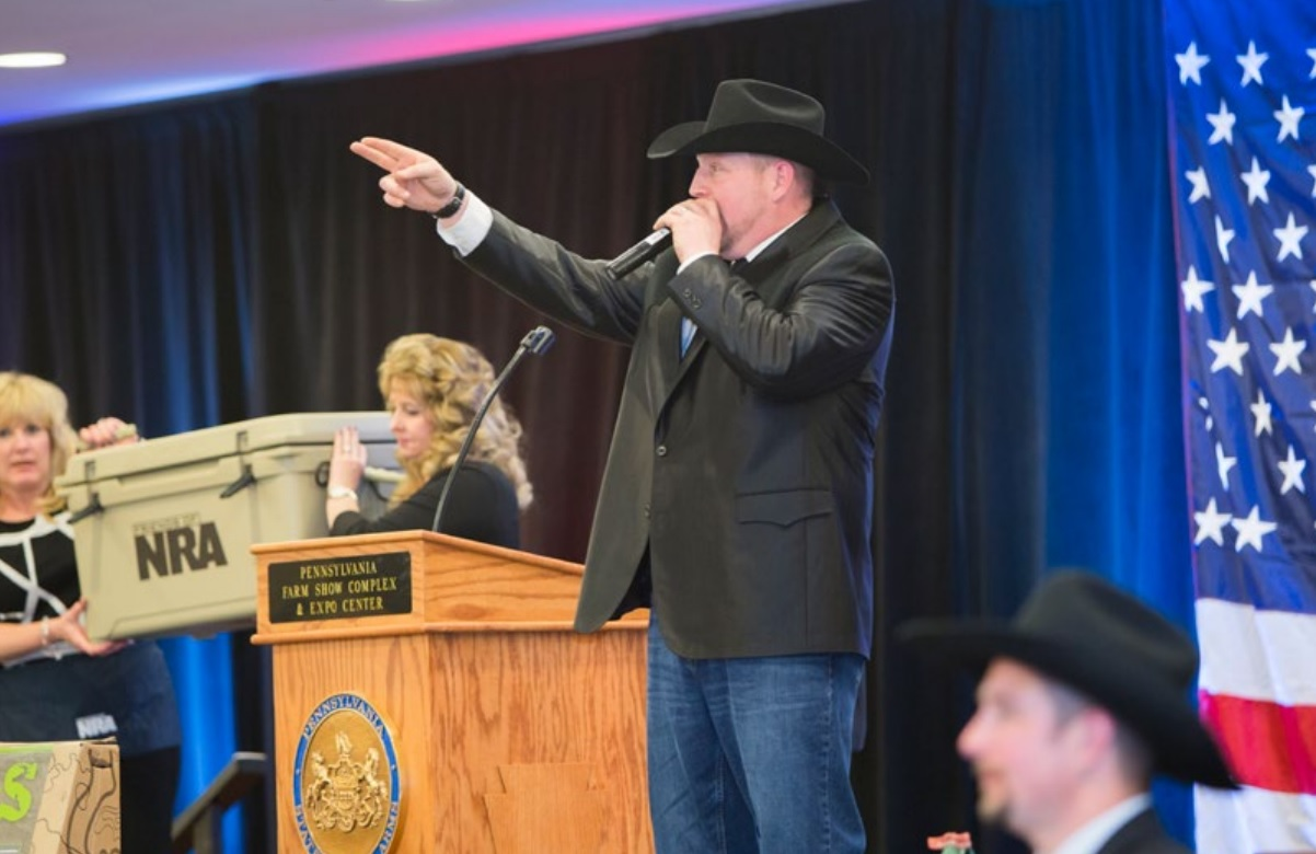 Featured Items at the National NRA Foundation Banquet