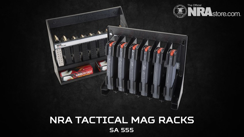 NRA Store Product Highlight: Tactical Mag Racks