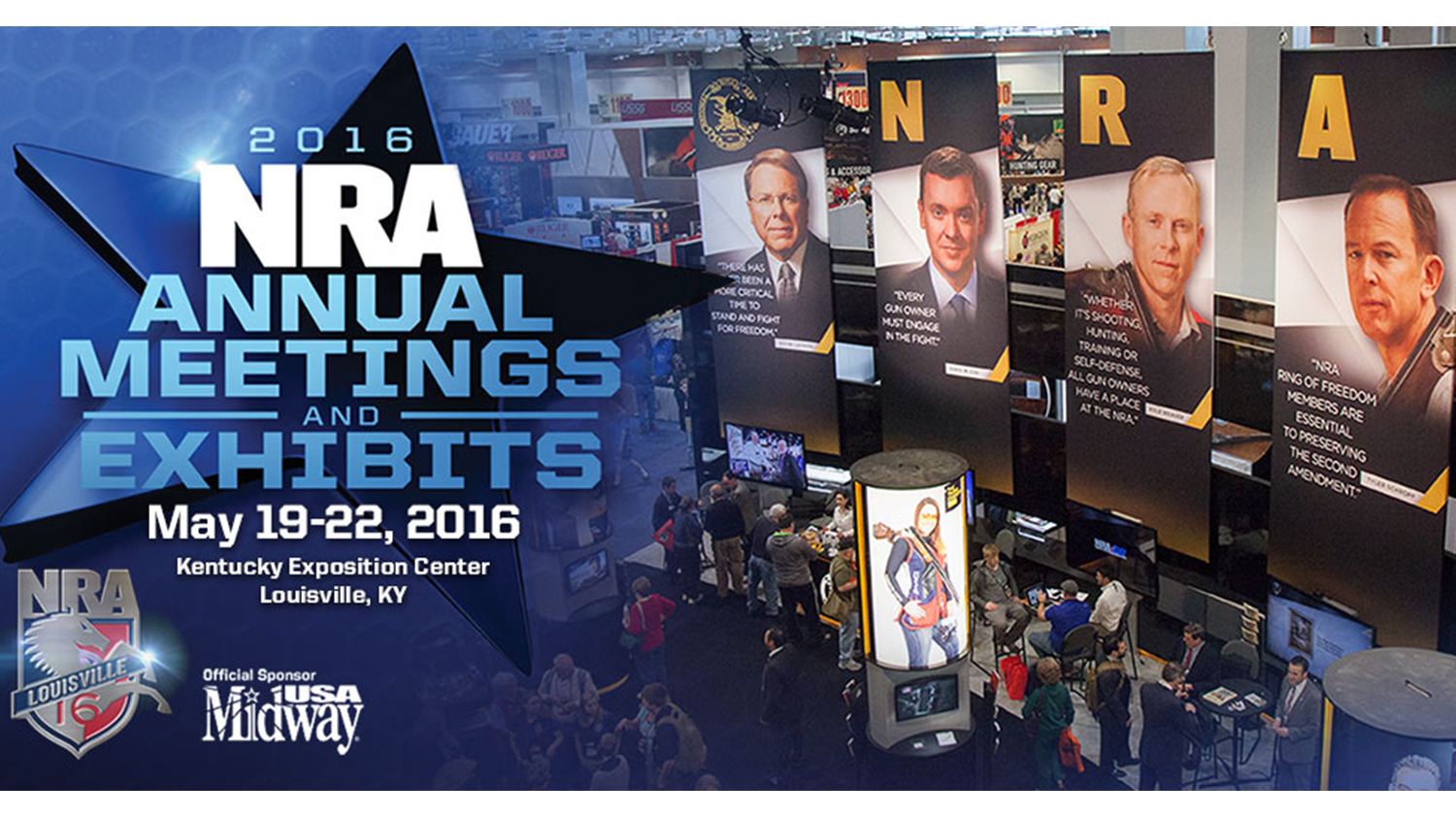 NRA Annual Meeting Events: Friday May 20th