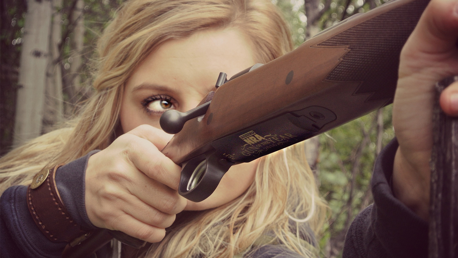 NRA Supporters Compete in Extreme Huntress Competition