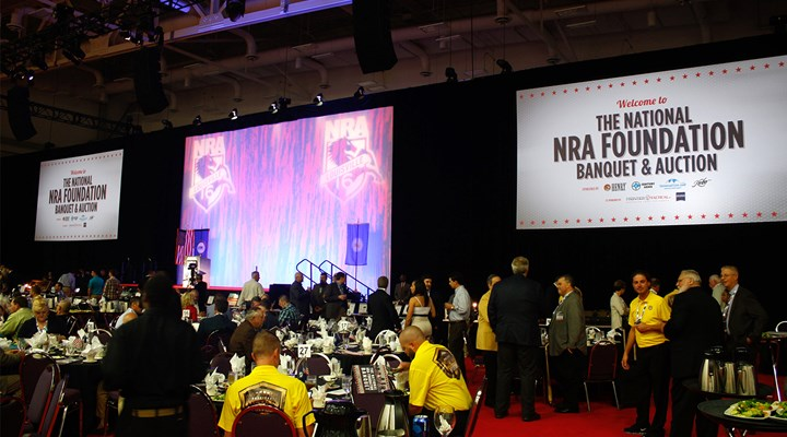 A Successful Evening at the National NRA Foundation Banquet