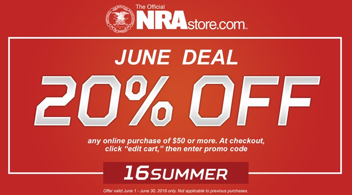Don't Miss Out on the NRAstore June Sale!