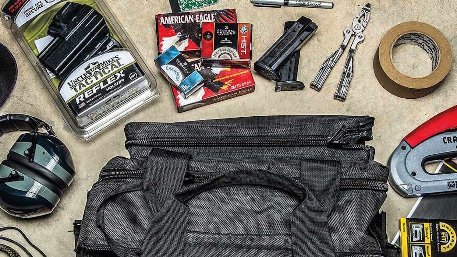 America's Rifle: What's in the Range Bag?