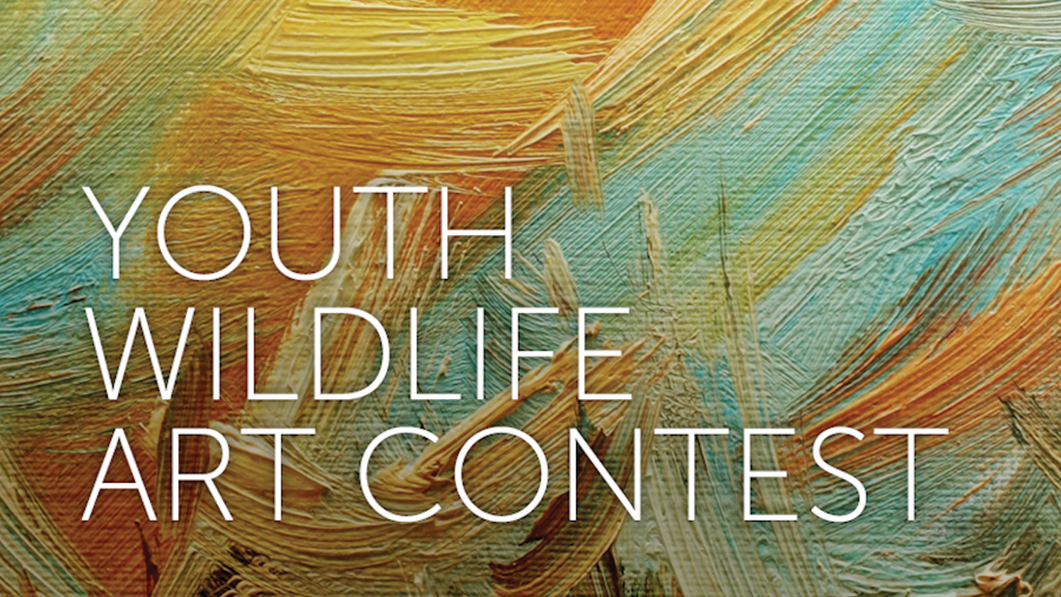 2016 Youth Wildlife Art Contest Now Accepting Entries