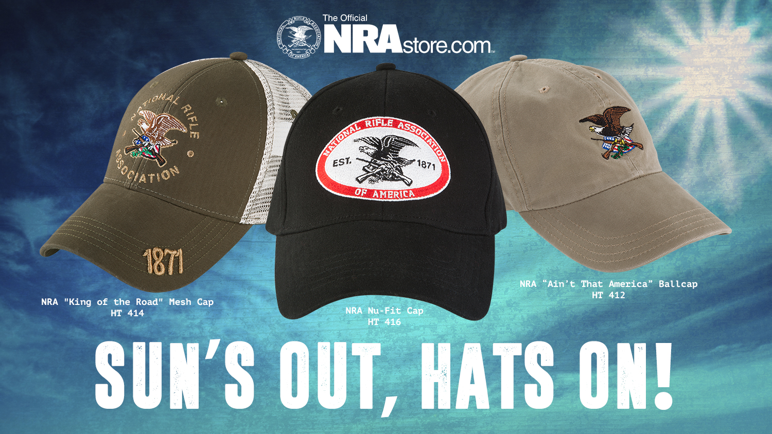 NRA Store Product Highlight: Second Amendment Hats