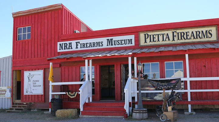 NRA Firearms Museum Pop Up at End of Trail