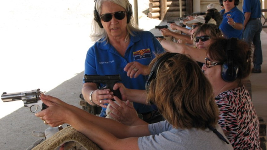 Meet NRA Instructor Carol Ruh