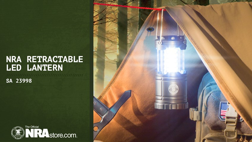 NRA Store Product Highlight: Retractable LED Lantern