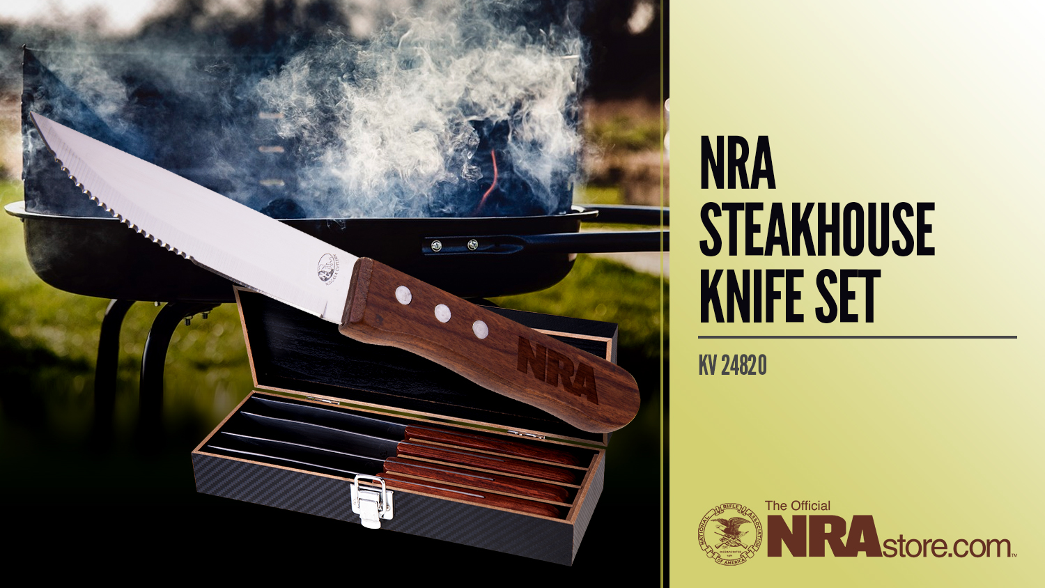 NRA Store Product: Steakhouse Knife Set