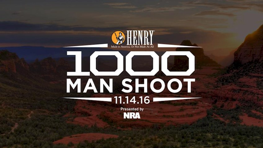 Help set a new world record at the Henry 1,000 Man Shoot